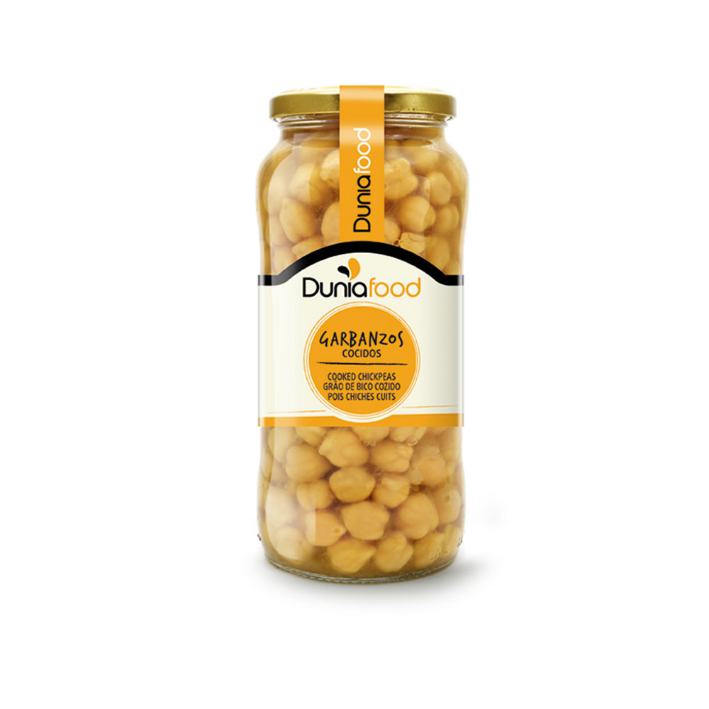 GARBANZOS COCIDOS T580ML